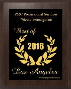 PRIVATE INVESTIGATOR IN  LOS ANGELES CA