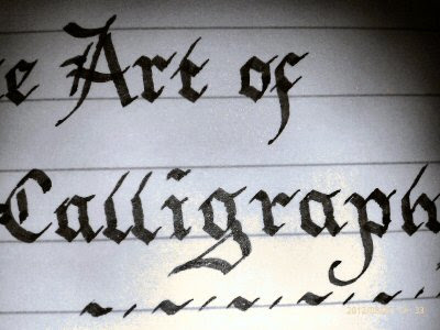 Calligraphy For Beginners Basic Letter Styles