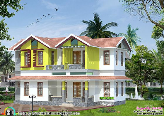 1475 sq-ft low cost home