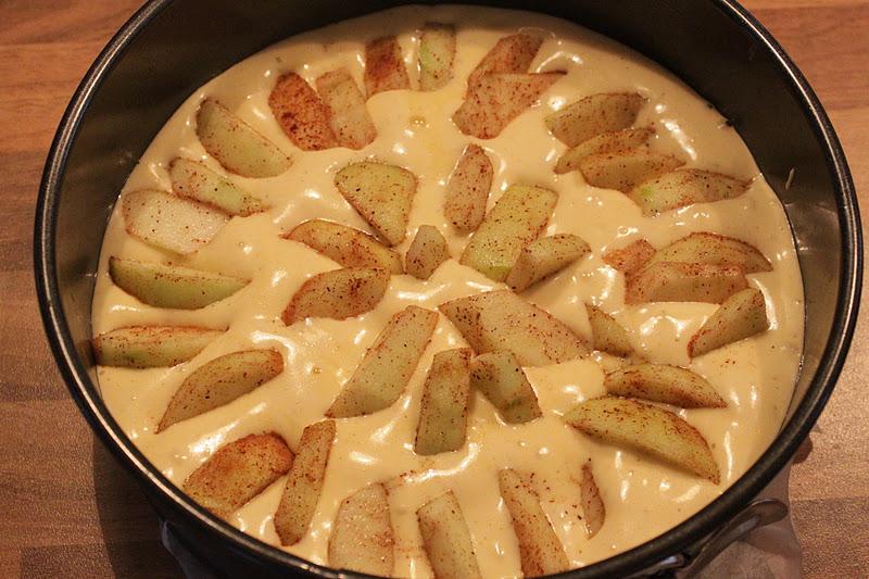 glaserte eplebiter til kalkun