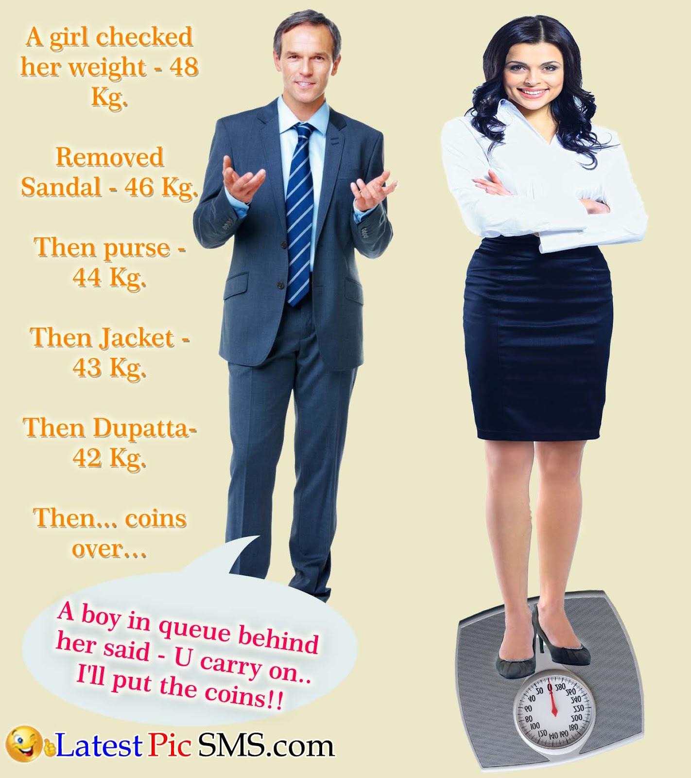 girl weight jokes - Non Veg Jokes with Photos for Whatsapp & Facebook