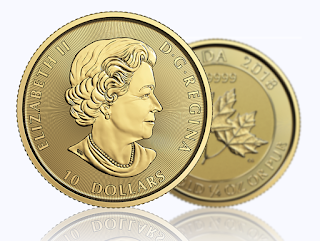 gold canadian twin maples coin