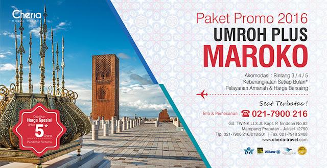 Paket Umroh Plus Maroko Spanyol