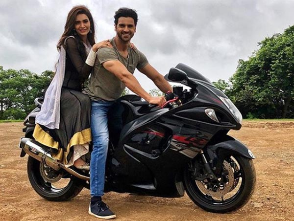 Vivek rides a Hayabussa
