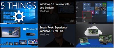 Windows 10 Keyboard shortcuts (Continuum)
