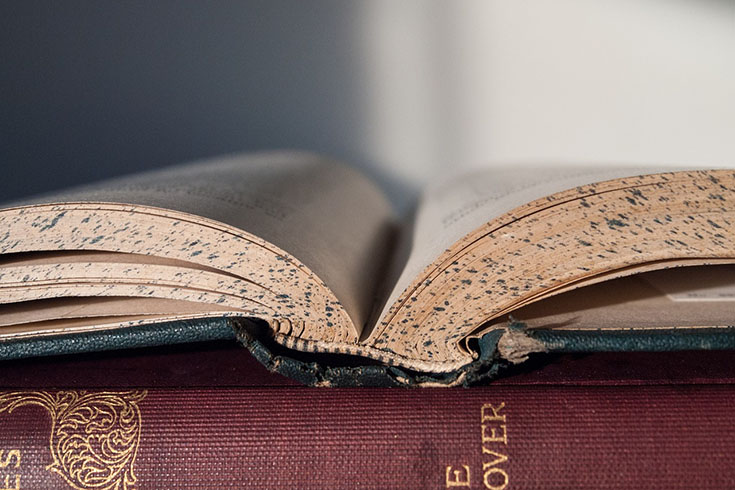 Make Smelly, Moldy, Old Books Like New Again with This Simple Trick