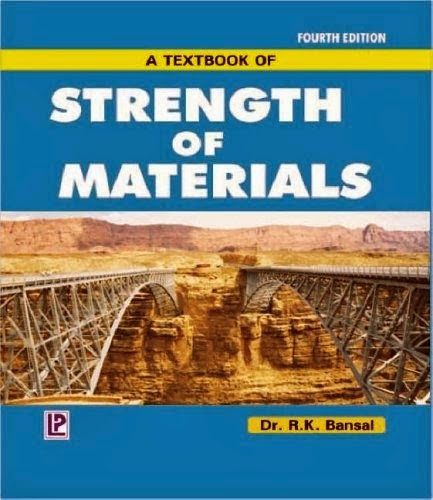 Strength of materials book by R K bansal pdf free Download