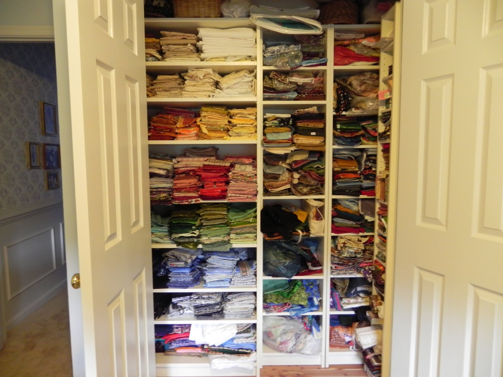 Reorganizing Room: Warm Stitches: Sewing Room Reorganizing