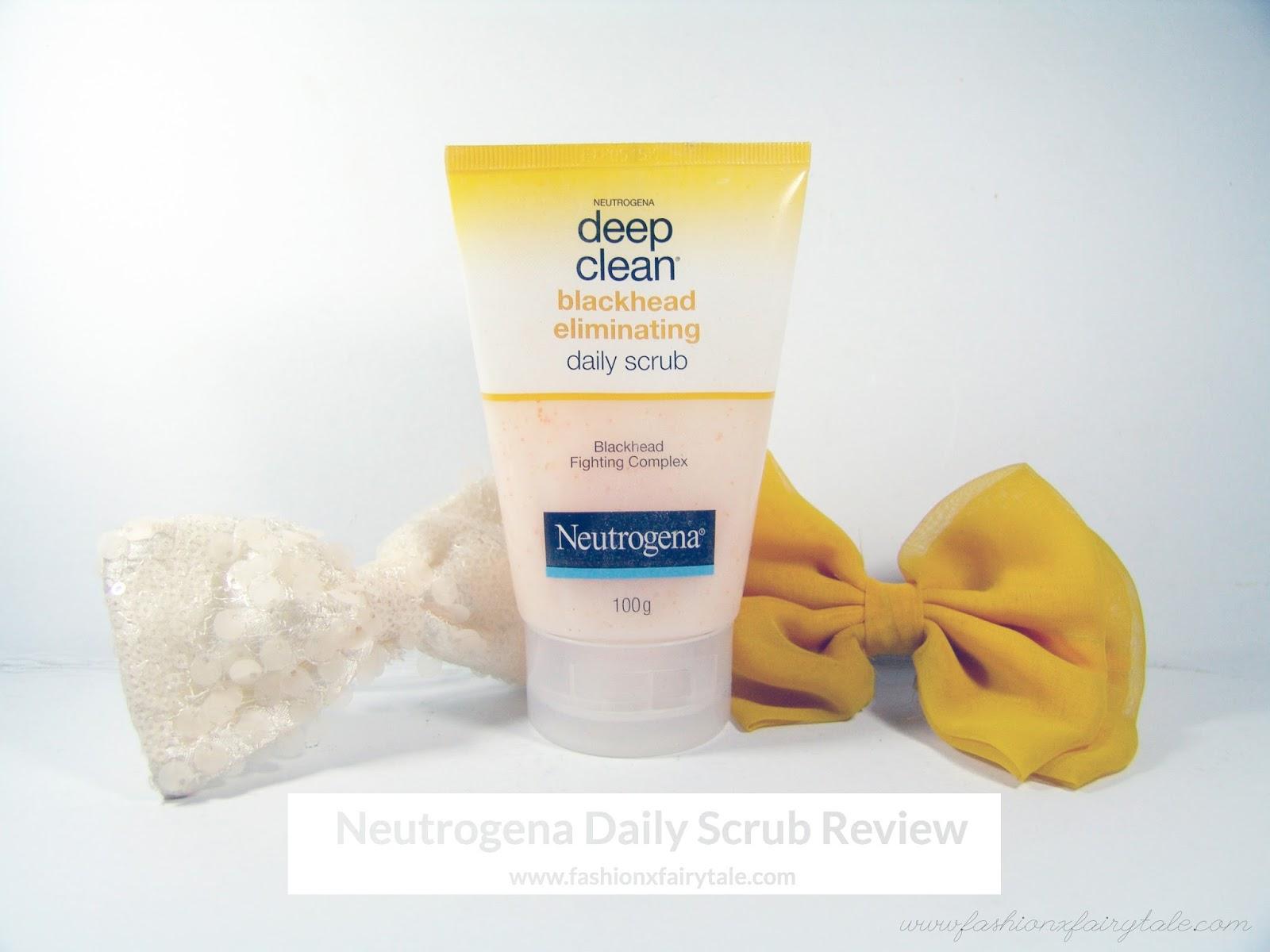 Neutrogena Daily Scrub Review
