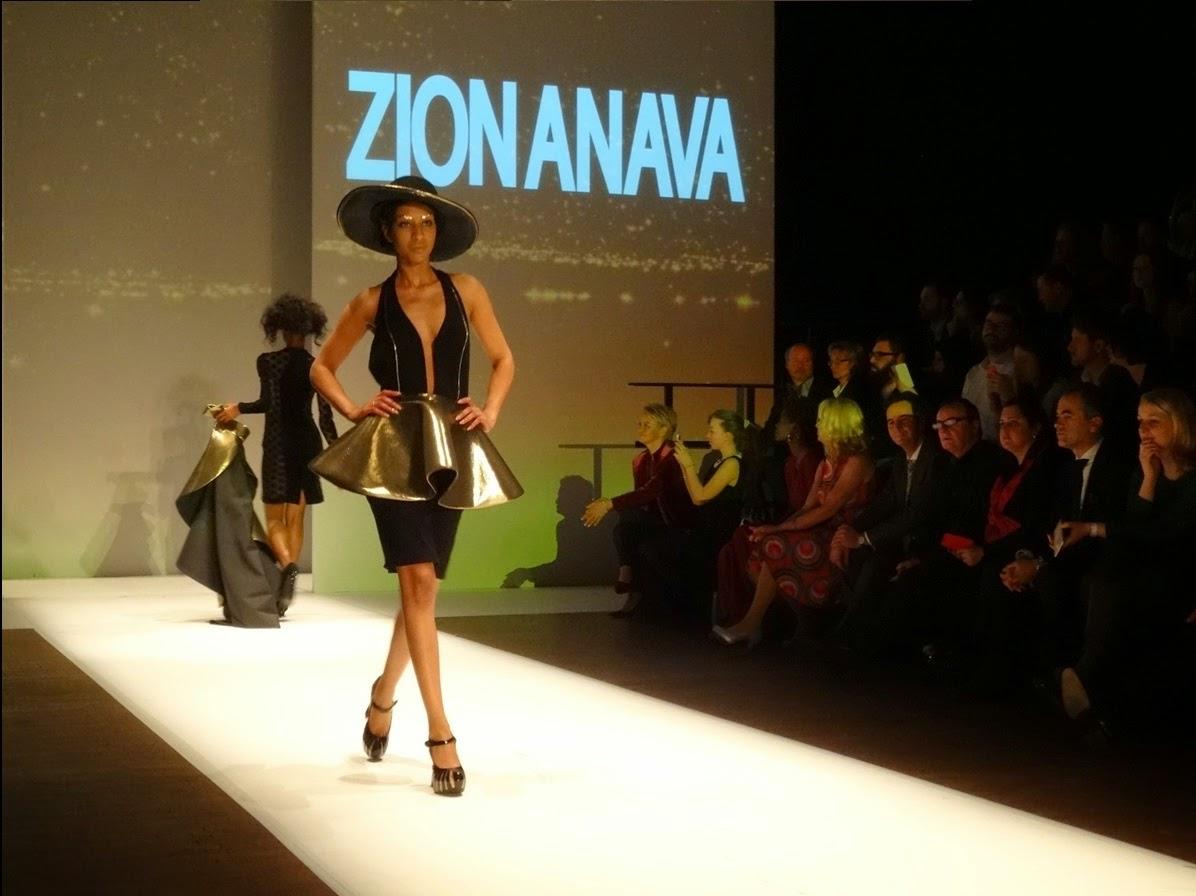 Zion Anava fashion show