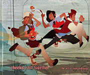 Cheeks Still Together Hardcover Book