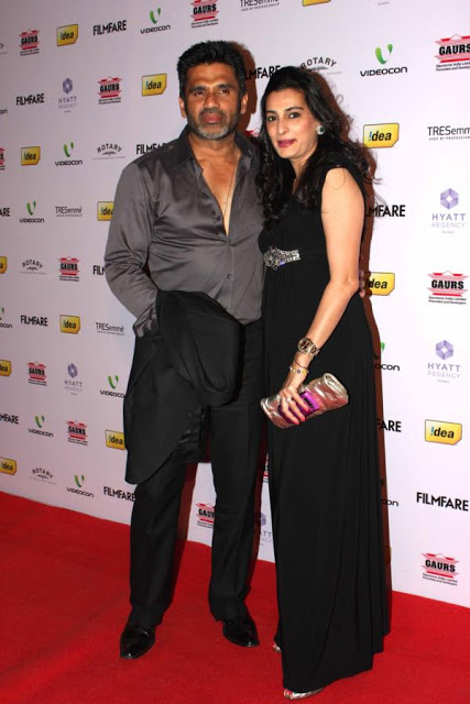 Bollywood Celebs At Filmfare 2012 Nominations Night