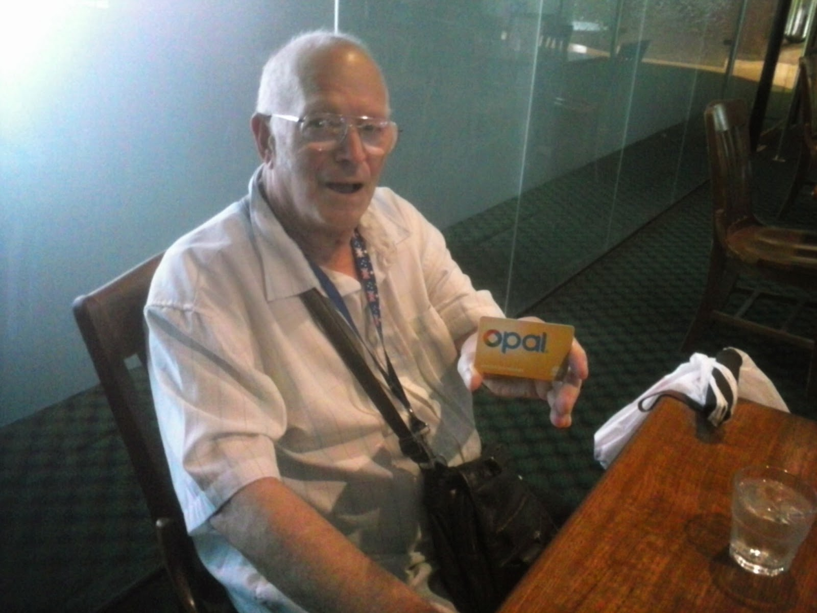 how to buy opal card for pensioner