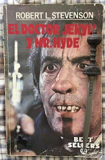 Portada del libro El doctor Jekyll y míster Hyde, de Robert L. Stevenson