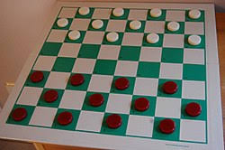 Draughts or checkers