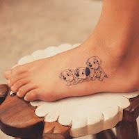 tatuagem pé