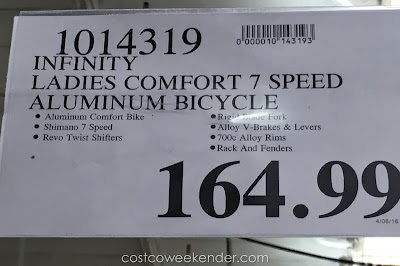 Deal for the Infinity Boss.one Womens 7-speed 700c Comfort Bike at Costco