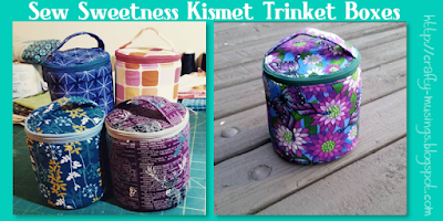 Kismet Trinket Boxes from Sew Sweetness