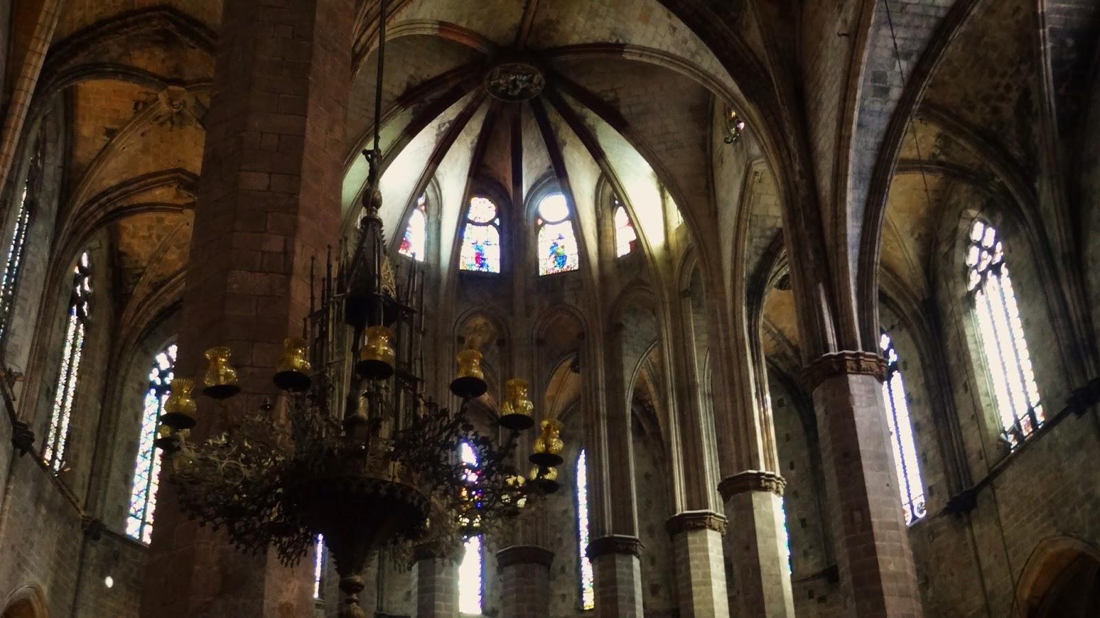Santa Maria del Mar, la Ribera, el Born