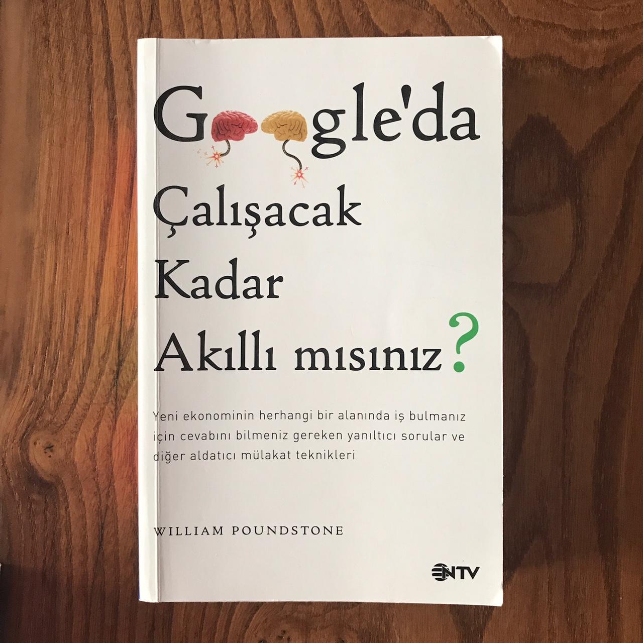 Google'da Calisabilecek Kadar Akilli misniz?