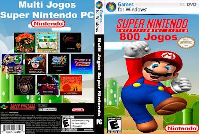 Multi Jogos Super Nintendo PC Portable Capa