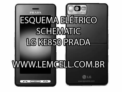lemcell tutoriais esquema el trico celular lg ke850 prada manual de rh lemcell com br LG Prada KE850 by Model LG Rumor Phone
