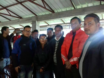 Cinchona special seasonal labour met GTA chief Binay Tamang