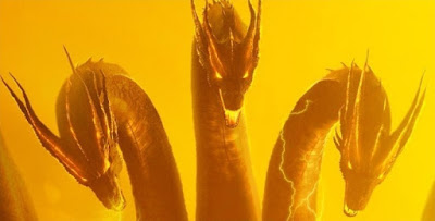 Godzilla: King of the Monsters Posters Show Off Mothra, Rodan and Ghidorah