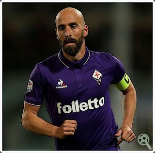 Borja Valero Captain Fiorentina