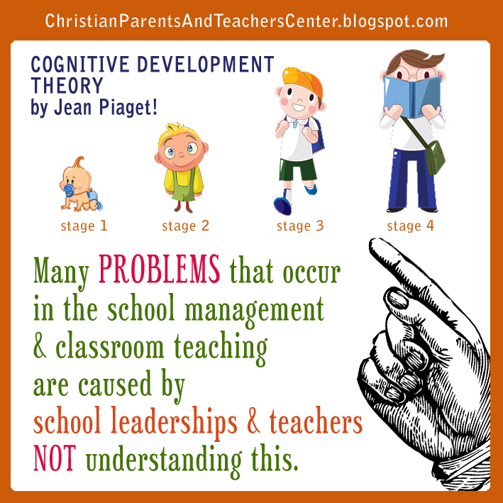the proposed theory of cognitive development of children by jean piaget Stage theories, such as piaget's stage theory, focus on whether children progress through qualitatively different stages of development sociocultural theories, such as that of lev vygotsky, emphasize how other people and the attitudes, values, and beliefs of the surrounding culture, influence children's development.