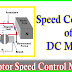 Speed Control Methods Of DC Motor