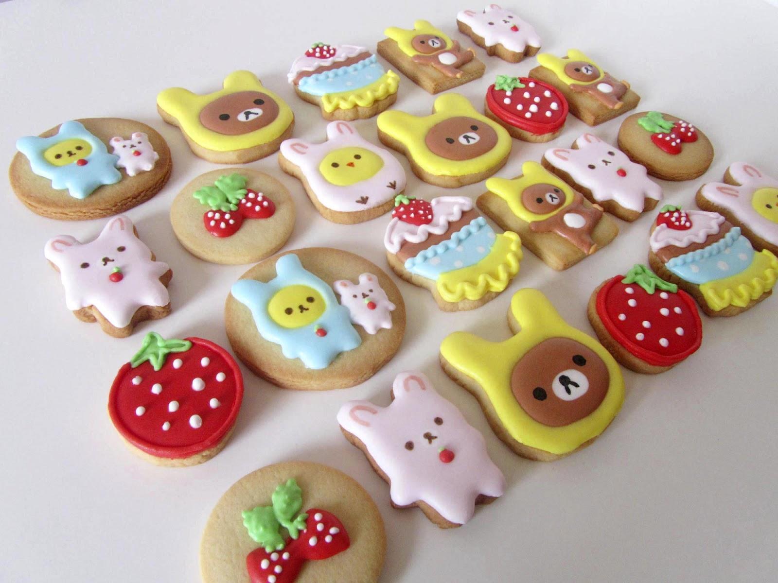 Galletas decoradas: kawaii   Postreadicción: Cursos de pastelería ...