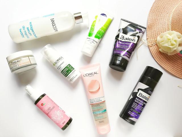 Pokaż wakacyjną kosmetyczkę — kosmetyki do wakacyjnej pielęgnacji twarzy | Wyzwanie tydzień 2
