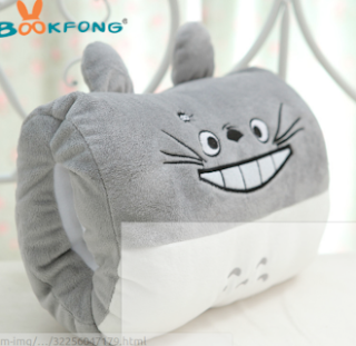 Cartoon Totoro Pillow winter hand warmer Birthday Gift For Girl Friend