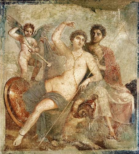 Greek Mythology Ares Hephaetus And Aphrodite