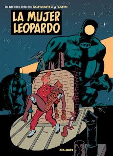 LA MUJER LEOPARDO, de Olivier Schwartz y Yann.