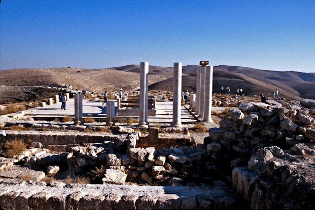 Jordan's biblical fortress of Machaerus restored after 50 years of excavations