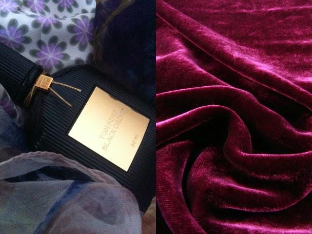 Profumi primavera 2014, tom ford black orchid, plum velvet, velluto viola