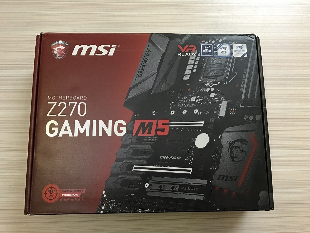 Msi Z270 Gaming M5 Review Home Button List For Iphone Ipad Ipod Touch Id Tombol Stiker Sticker Opted A Neat And Tidy Packing Theme The With Red Backdrop Chunky Photograph Of Motherboard Occupying Entire