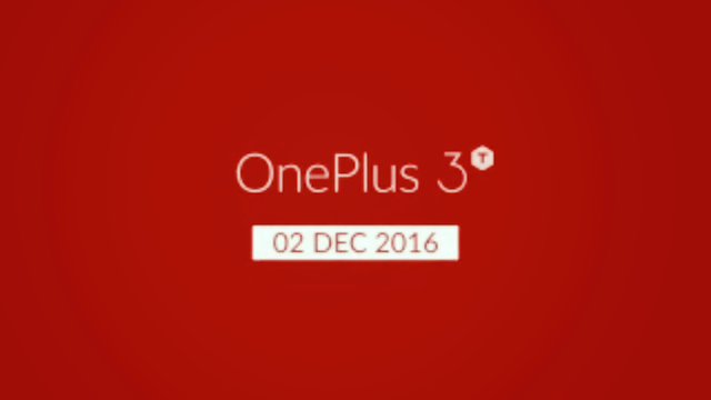 OnePlus 3T India launch set for December 2