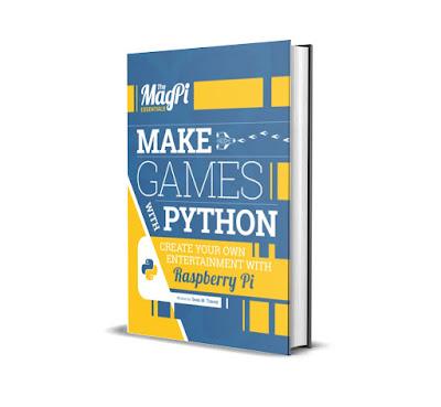 FREE E-BOOK Make Games with Python Raspbeery Pi