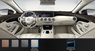 Nội thất Mercedes S500 4MATIC Coupe 2015 màu Vàng Porcelain 965