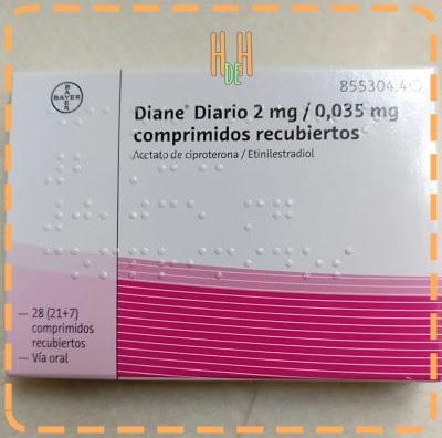 Mi experiencia con Diane35 (pastillas anticonceptivas)