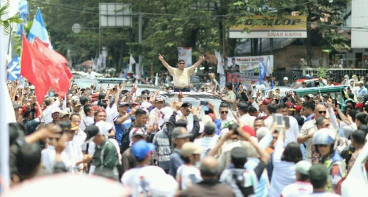 Di Bandung, Prabowo Ungkap Siapa Saja yang Pantas Jadi Menterinya