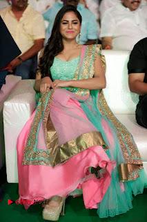 Actress Naina Ganguly Stills in Long Dress at Vangaveeti Audio Launch  0117.JPG