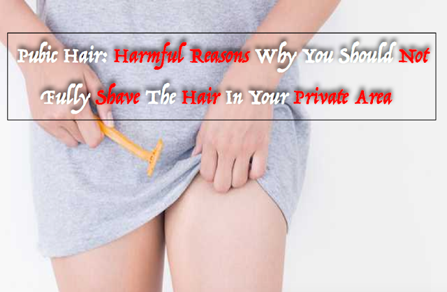 Pubic Hair: Harmful Reasons Why You Should Not Fully Shave The Hair In Your Private Area