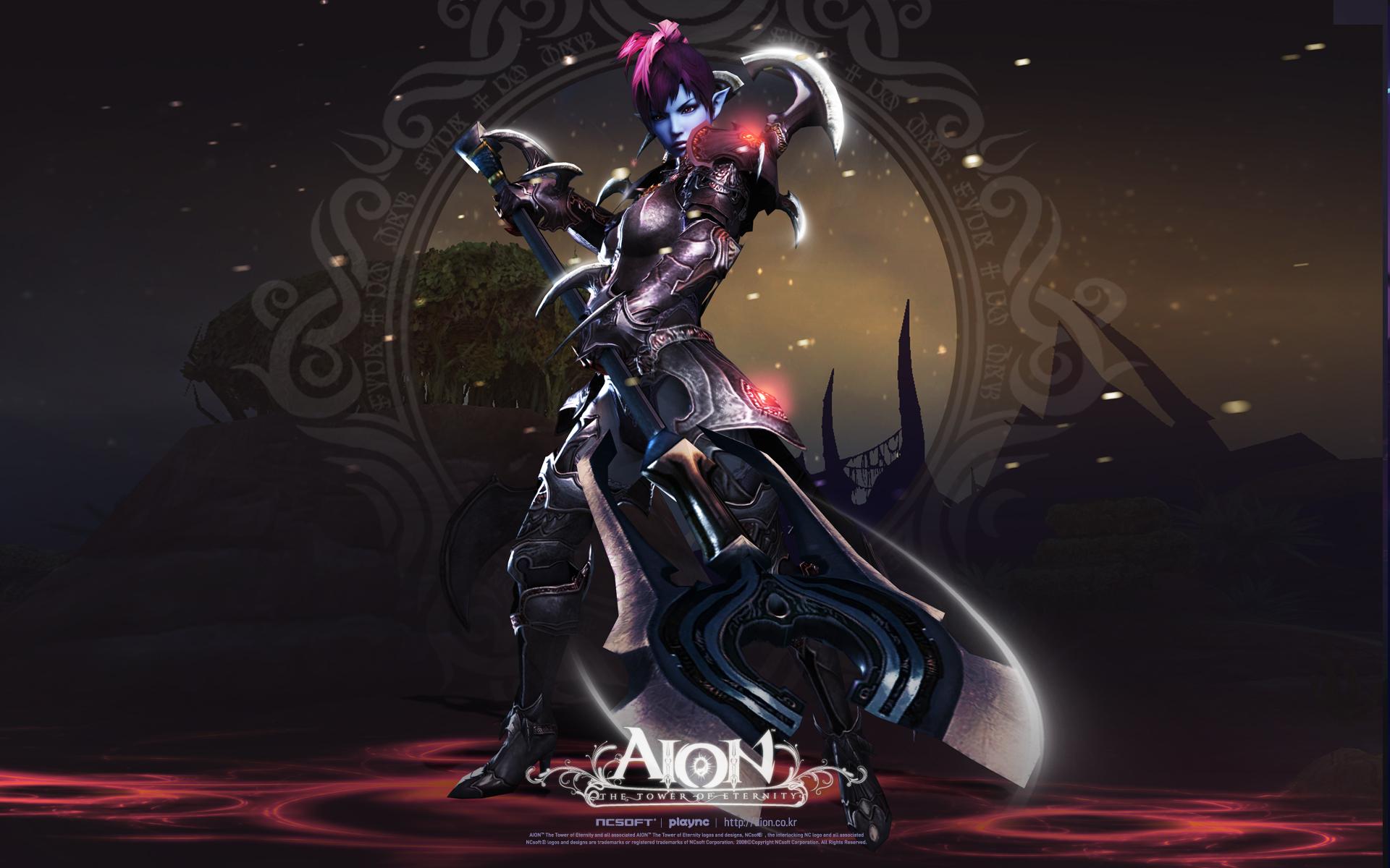 Aion Female Gladiator