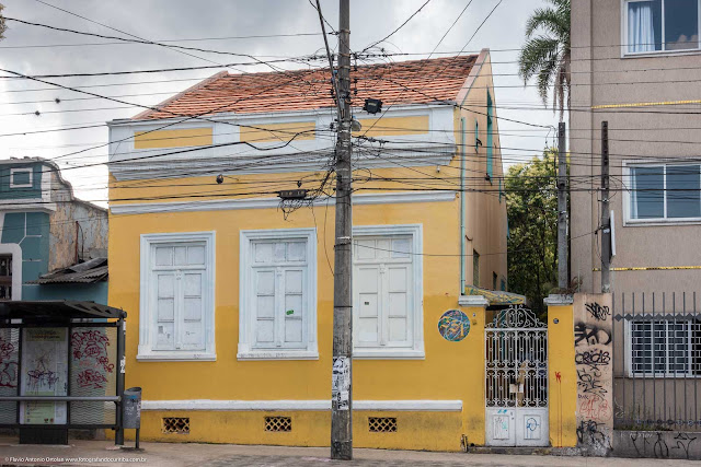 Casa na Rua Trajano Reis - Unidade de Interesse de Preservação