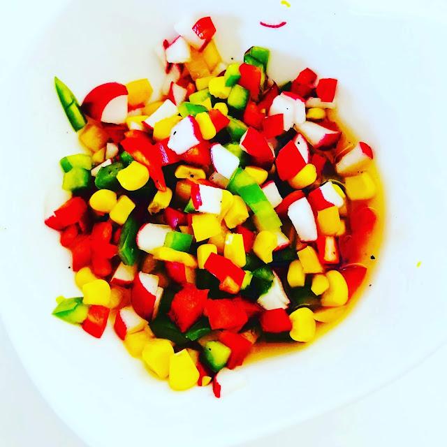 przepisy fit salsa warzywna w sosie miodowym