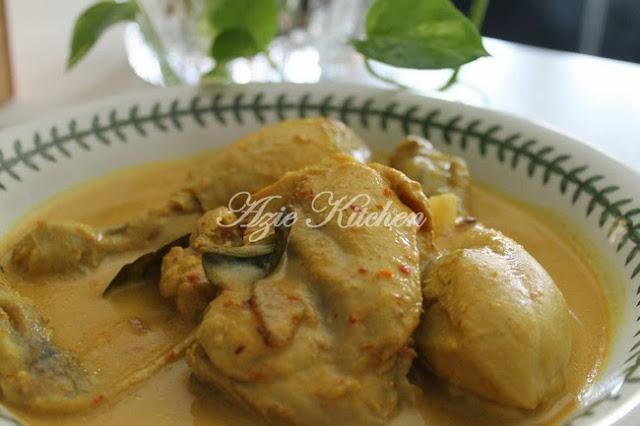 Masak Gulai Lemak Ayam